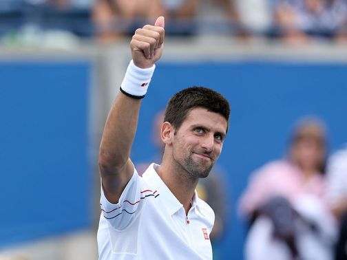 Novak Djokovic: Won two matches on Friday