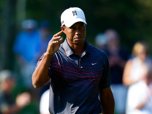 Tiger Woods: Impressive with a round of 64 on Friday