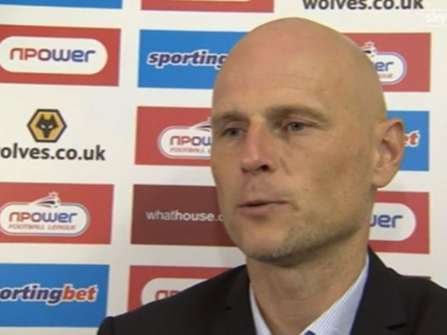Stale Solbakken: Unhappy with performance against Charlton