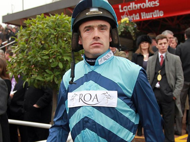 Ruby Walsh: Took a heavy fall at the last aboard Tarla