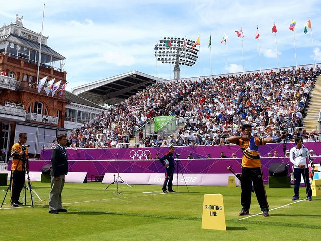 Olympic archery has done the Lord's outfield few favours.
