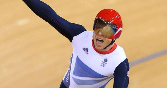 Sir Chris Hoy: won a record-breaking sixth Olympic gold medal at the London 2012 Games