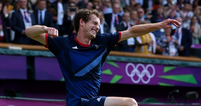 Andy Murray: Backed to build on Olympic gold