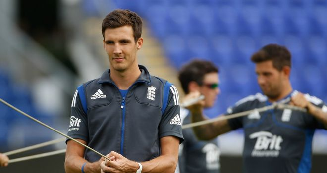 Steven Finn: sees bright future for England under Alastair Cook's captaincy