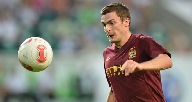 Adam Johnson: Has fallen out of favour at Manchester City