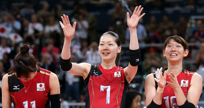 Japan: Celebrations as they defeat South Korea to win the bronze medal match