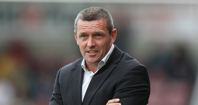 Aidy Boothroyd: Pleased with his side's performance
