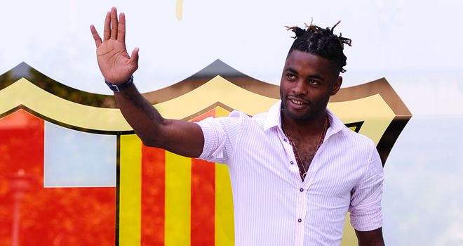 Alex Song: Barcelona midfielder has claimed he never wanted to leave Arsenal
