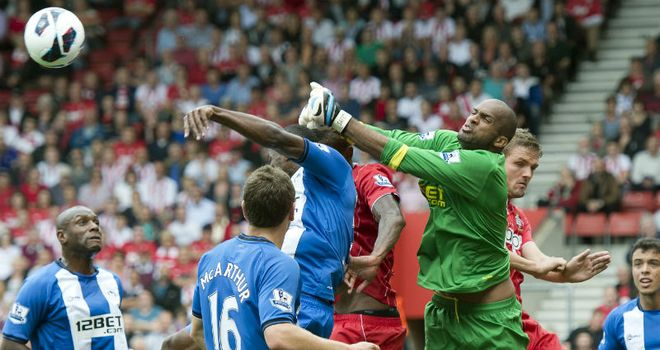 Ali Al Habsi: Goalkeeper is set to be a key player for Wigan boss Owen Coyle next season