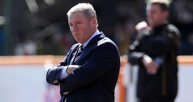Ally McCoist: Rangers boss will welcome Motherwell to Ibrox in the Scottish Communities League Cup