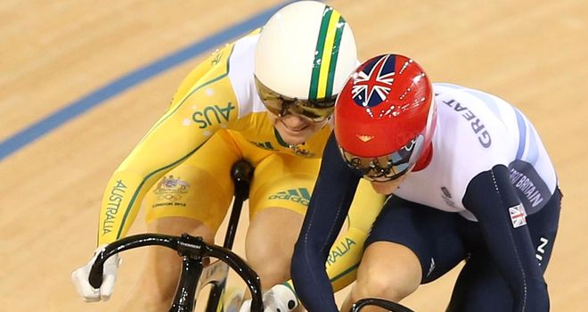 Anna Meares: Praise for Vicky Pendleton