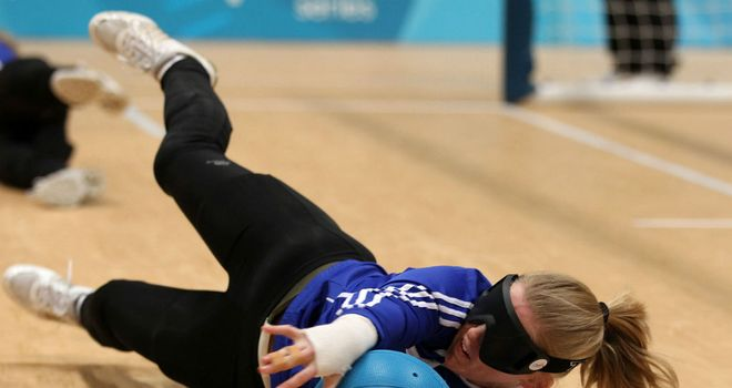 Anna Sharkey: The GB Paralympian in action
