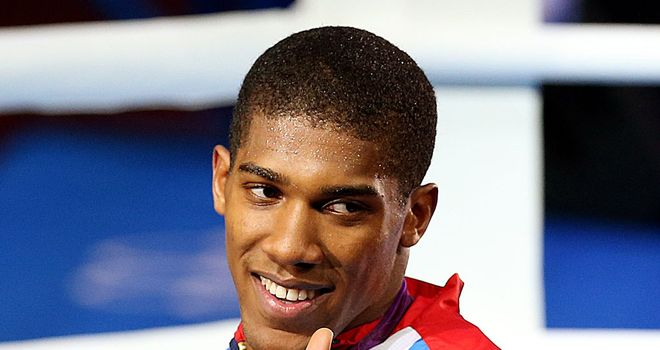 Anthony Joshua: Not tempted to join the paid ranks