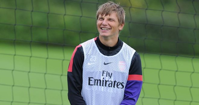 Andrey Arshavin: The Russia captain is said to have 'no problem' with a move to Turkey