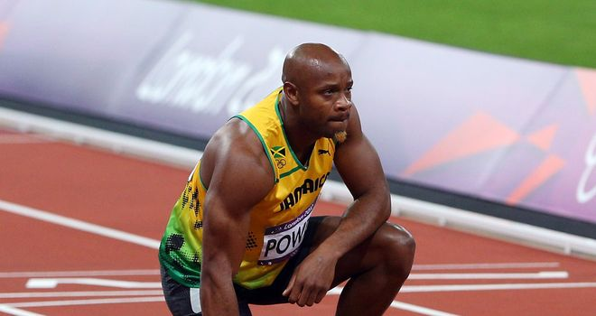 Asafa Powell: Could not repeat his blistering first time