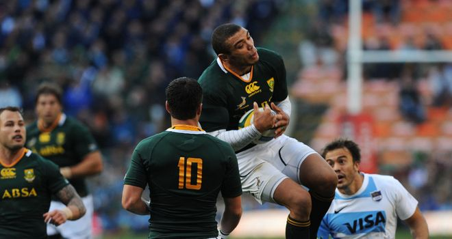 Bryan Habana: Scored the Boks' third try