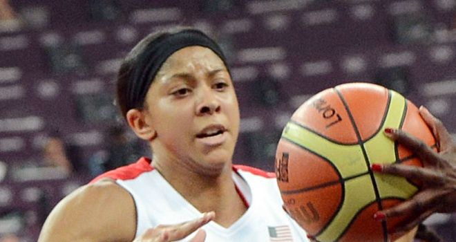 Candace Parker: Collected 21 points and 11 rebounds as US won gold