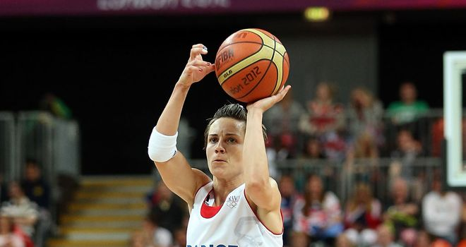 Celine Dumerc: Capped the victory for France with a late three-pointer