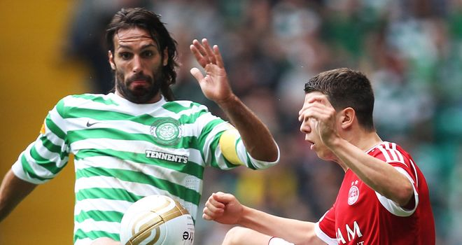 Georgios Samaras: The striker is declared fit for Celtic's Champions League third qualifying round match against HJK Helsinki on Wednesday night