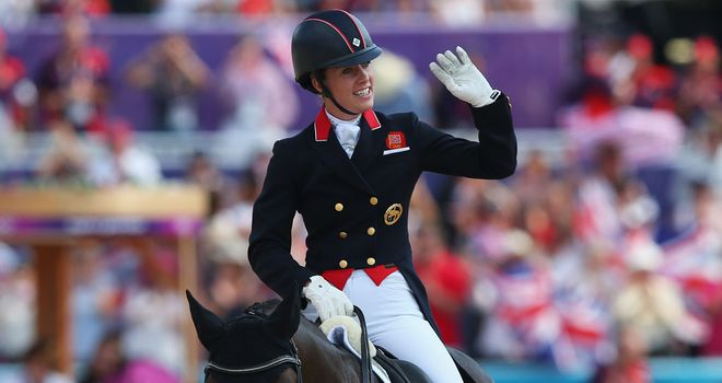 Charlotte Dujardin: New world record at Olympia