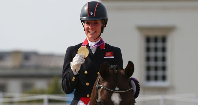 Charlotte Dujardin: Won second gold medal of 2012 Olympics