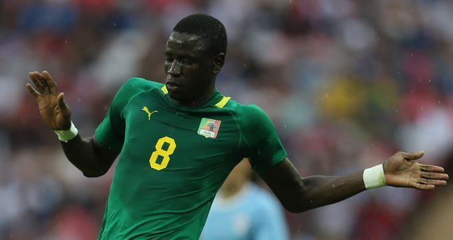 Cheikhou Kouyate: Linked with Arsenal