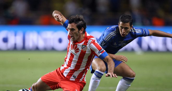 Diego Godin: Agrees new Atletico deal