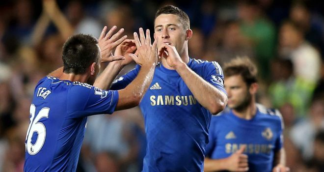 Gary Cahill: Pleased Chelsea were able to overcome a tough Reading side