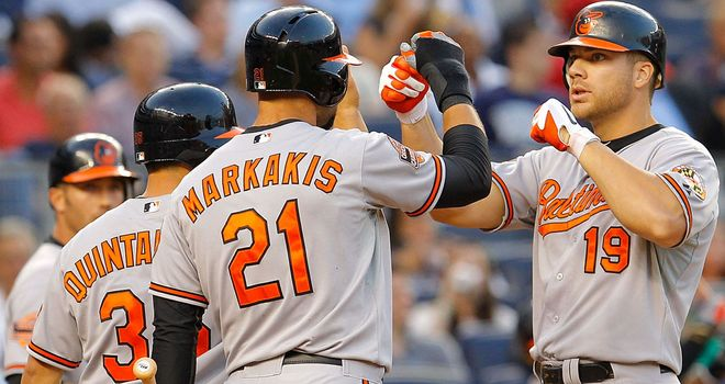 Chris Davis: His home run in the fourth inning was enough to beat the Tampa Bay Rays