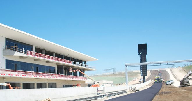 Circuit of the Americas: Will see the medium and hard tyres in action
