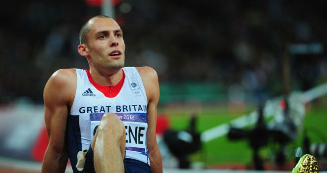 Dai Greene: Ran a British Record to mark the start of his 2013 campaign