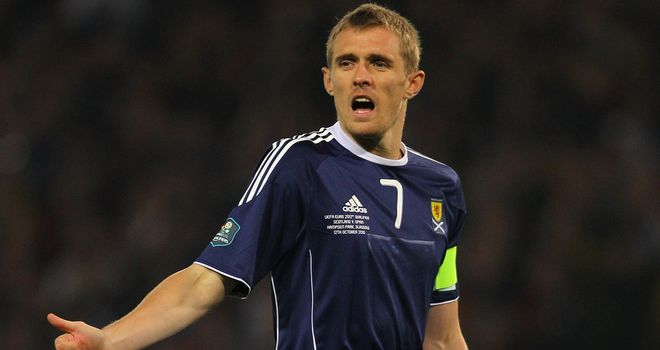 Darren Fletcher: Determined to beat Belgium for Craig Levein