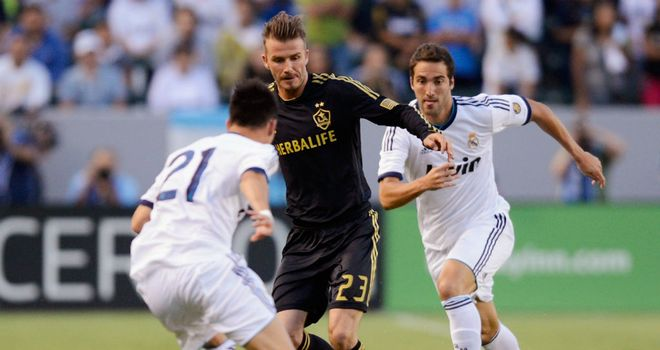 David Beckham: Could not prevent LA Galaxy falling to a heavy defeat by Real Madrid