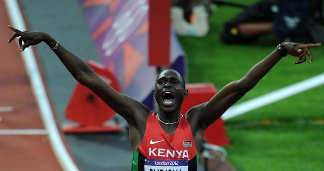 David Rudisha: Broke the world record