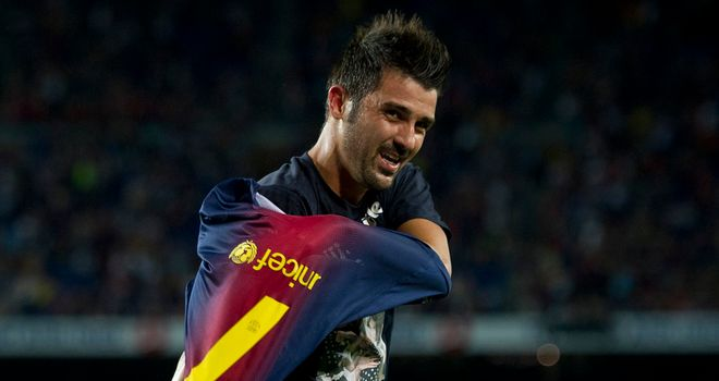 David Villa: Happy after taking &#39;important step forward&#39; with goalscoring comeback