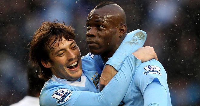 Mario Balotelli: Manchester City striker has made two substitute appearances so far this term