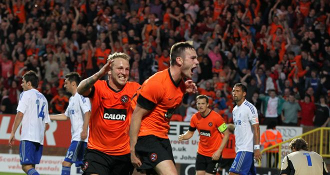Keith Watson: New deal at Dundee United