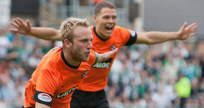 Johnny Russell: Dundee United striker has been the subject of an enquiry from Everton