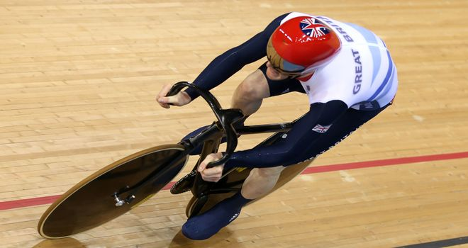 Ed Clancy: Second place in 4km  individual  pursuit