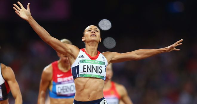 Jessica Ennis: Set new personal best and British record