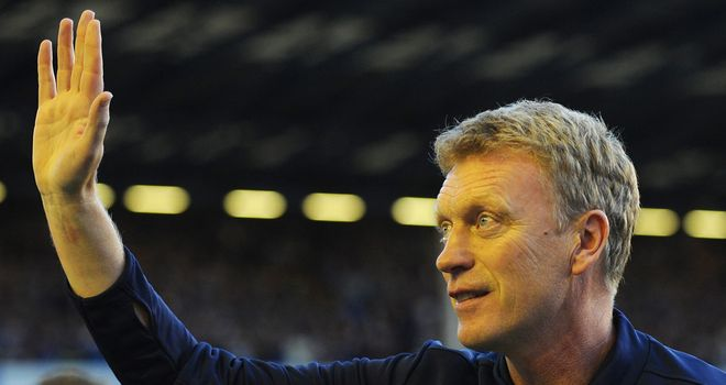 Moyes: the Scot's Everton side will host Newcastle on Monday Night Football
