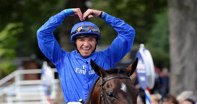 Frankie Dettori: Turkish delight as he struck aboard Hunter's Light