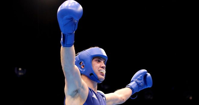Fred Evans: will fight for gold on Sunday