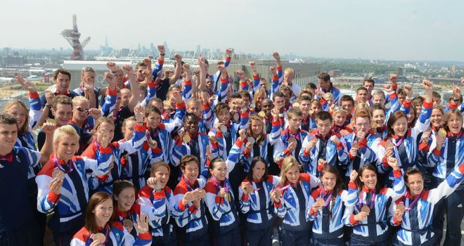 Team GB: Inspiring a generation