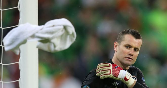 Shay Given: Left out of Ireland squad
