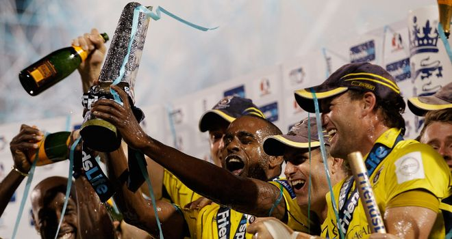 Champions: Hampshire have perfect blend, says Knight