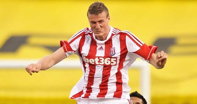 Robert Huth: Defender happy to battle for his place at Stoke