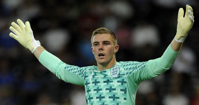 Jack Butland: Attention focused on England U21 side