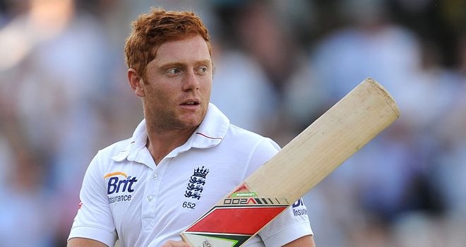 Jonny Bairstow: five runs short of his maiden Test century