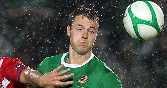 Northern Ireland have received a boost with the news that Jonny Evans will be available to face Luxembourg.